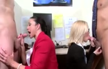 Hot office foursome with Jewels Jade and Nicole Aniston