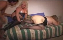 Small group of horny people fucking