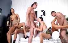 Kinky swingers having an orgy